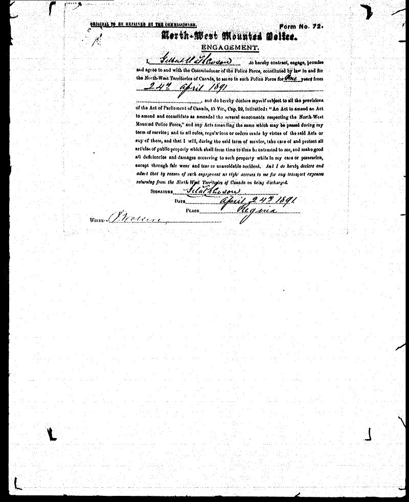 Digitized page of NWMP for Image No.: sf-01280.0064-v7