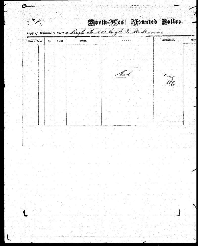 Digitized page of NWMP for Image No.: sf-01280.0069-v7