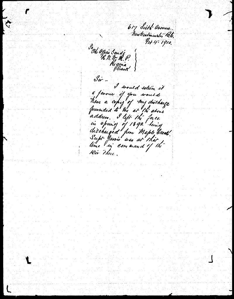 Digitized page of NWMP for Image No.: sf-01280.0080-v7