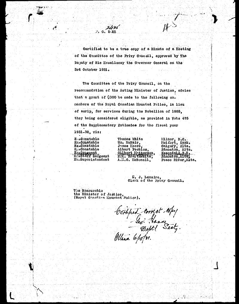 Digitized page of NWMP for Image No.: sf-01280.0088-v7