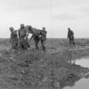 German prisoners and wounded captured by Canadians, Battle of Passchendaele