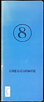 Rectangular light blue book with a bold number