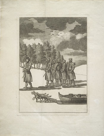 Engraving from book, THE AMERICAN TRAVELLER, OR, OBSERVATIONS ON THE PRESENT STATE [. . .]
