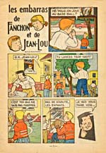 LES EMBARRAS DE FANCHON ET DE JEAN-LOU (16 page issue)
