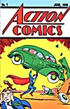 Cover of comic book, ACTION COMICS, number 1
