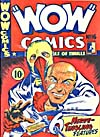 Cover of comic book, WOW COMICS, number 16