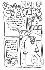 GREASE BALL COMICS, number 1 (4 page issue)