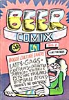 Cover of comic book, BEER COMIX, number 1