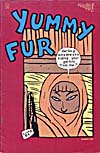 Cover of comic book, YUMMY FUR, number 1