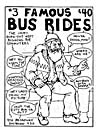 Cover of comic book, FAMOUS BUS RIDES, number 3