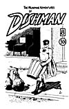 Cover of comic book, THE MUNDANE ADVENTURES OF DISHMAN, number 8