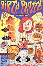 Cover of comic book, DIRTY PLOTTE, number 8