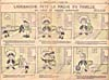 Comic strip, LADÉBAUCHE FÊTE LA PÂQUE EN FAMILLE, printed in newspaper, LA PRESSE, (April 2, 1904)