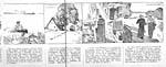 Image tirée de la bande dessinée LA CAMPAGNE CANADIENNE, publiée dans le journal AVE MARIA (février 1943)