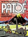 Cover of comic book, PATOF CHES LES DINOSAURS, number 3 [1976]
