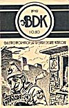 Cover of magazine, BDK, number 19