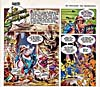 Panels from comic strip, JOE ATLAS, printed in magazine, SAFARIR, number 83