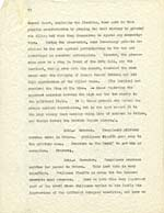 Page from synopsis of Lemelin's novel GUILLAUME DE QUÉBEC, submitted to the Guggenheim Foundation, English version, undated, page 6