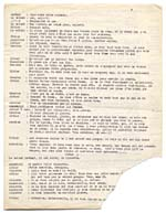 Page from typescript of CHEZ HITLER ET MUSSOLINI, 194?, page 5