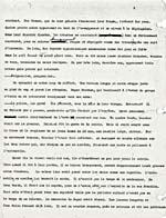 Page from typescript of AU PIED DE LA PENTE DOUCE, 1940-1944, page 2