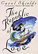 Cover of THE REPUBLIC OF LOVE, 1992, with an illustration of a mermaid
