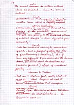 Page from manuscript of THE SWANN SYMPOSIUM, undated, page 39