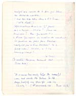 Page from Blais' notebook III, 1965, [page 17]