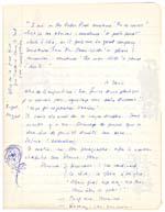 Page from Blais' notebook III, 1965, featuring handwritten text with notes and drawings in the margin, [page 18]