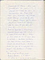 Page from Blais' notebook IV, 1965, [page 5]