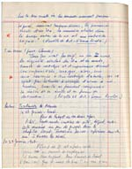 Page from Blais' notebook VIII, 1966-67, [page 33]