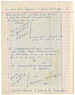 Page from Blais' notebook VIII, 1966-67, [page 89]