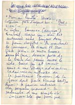 Page from Blais' notebook XI, 1968, [page 135]