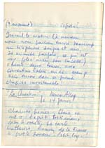 Page from Blais' notebook XI, 1968, [page 155]