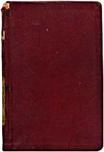 Cover of notebook, THE SECOND EDITION OF THE COMPLETE WORKS OF BETTY SMART, 1929
