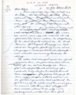 Manuscript page, entitled LIVES OF THE LESSER POETS, from rough notebook, 1978-79, page [18]