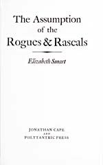 Title page of novel, THE ASSUMPTION OF THE ROGUES & RASCALS, 1978