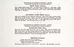 Page [5] du livre de cuisine OLD TIME RECIPES OF MANITOBA INDIANS qui donne quatre recettes : caille rôtie, pain de piments du sud-ouest, chevreuil cuit sur le barbecue et pemmican