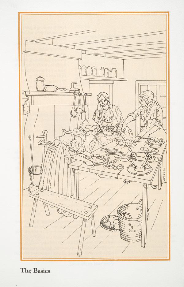 Archivee La Cuisine Des Pionniers L Histoire Des Livres