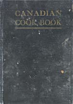 Cover of cookbook, CANADIAN COOK BOOK