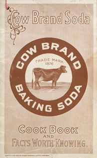 Couverture du livre de cuisine COW BRAND SODA COOK BOOK AND FACTS WORTH KNOWING