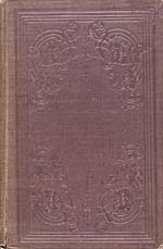 Cover of book, THE CANADIAN SETTLER'S GUIDE, in brown embossed leather