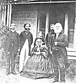 Photo of Suzanna and J.W. Dunbar Moodie and family