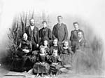 Photograph of family of William Edward Traill and Harriet McKay