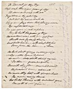 Poème A LAMENT FOR MAY DAY, page [2] du manuscrit MEMORIES OF MAY