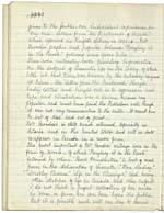 Page [14] of manuscript, A SLIGHT SKETCH OF THE EARLY LIFE OF MRS. MOODIE, by Catharine Parr Traill (pages [1-14])