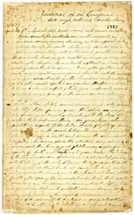Manuscrit de JOURNAL OF AN EMIGRANT: WITH ROUGH NOTES AND MEMORANDUM