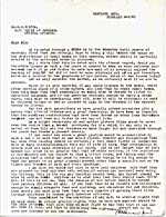 Letter from P.M. Crawford to E.D. Fulton, February 2, 1949; 1 page