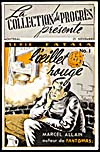 Cover of pulp magazine, L'OEILLET ROUGE, number 1 (November 25, 1951?)