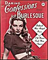Cover of pulp magazine, DARING CONFESSIONS AND BURLESQUE, volume 2, number 10 (October-November 1944)