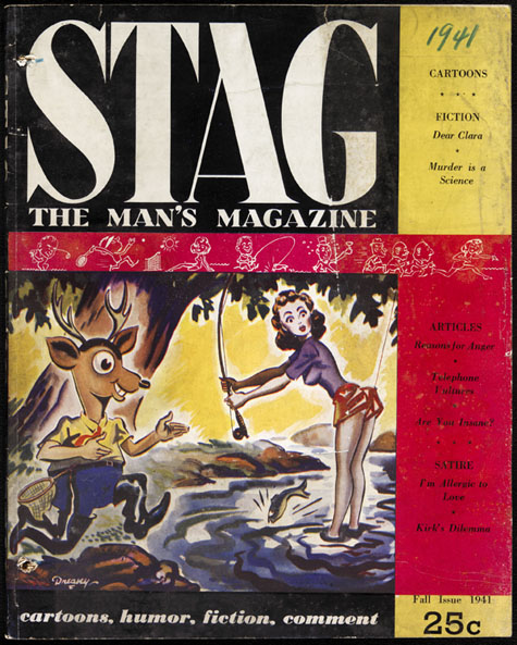 Full-length pulp magazine, STAG, Fall 1941